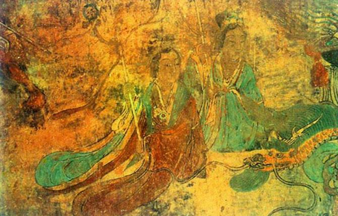 河北曲阳北岳庙德宁殿壁画